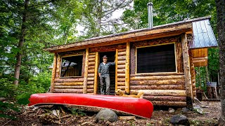 Screening The Porch Of My Log Cabin | Smoked Black Bear Sandwiches