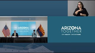 Arizona COVID-19 Briefing with Governor Ducey, Dr. Christ, Maj. Gen. McGuire - July 23, 2020