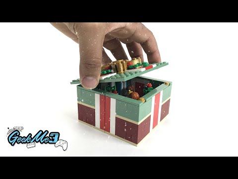 Vidéo LEGO Saisonnier 40292 : Cadeau de Noël