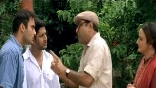 Comedy Scene  Akshaye Tells Paresh Rawal That He Loves Kareena And Wants To Marry Her Hulchul
