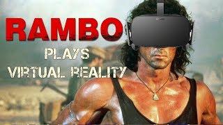 RAMBO PLAYS VR - Blade and Sorcery - Rambo last blood