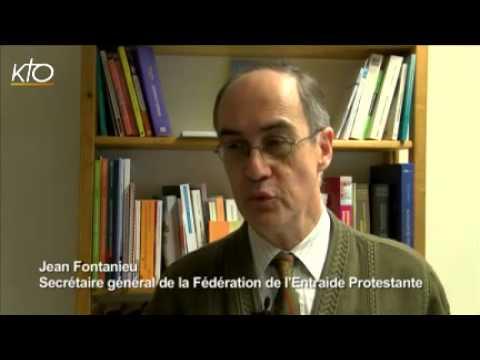 Jean Fontanieu Secrétaire général de la fédération de l'entraide protestante