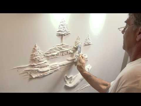 Escultura Drywall Arte Realiza en la Pared