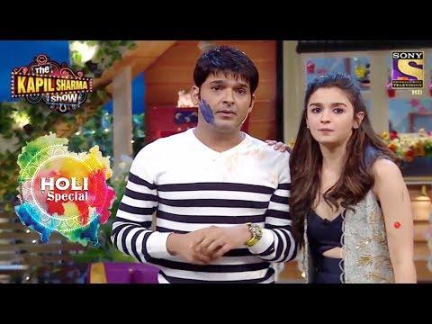 Holi Special   Celebrate Holi With Alia & Varun   The Kapil Sharma Show