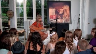 Taylor Swift   Acoustic Performances From RED Album
