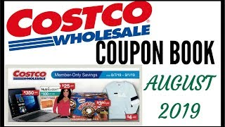 💵AUGUST 2019 COSTCO COUPON BOOK ● COSTCO MEMBER ONLY SAVINGS DEALS 2019 ● AUGUST 8/7/19 - 9/1/19