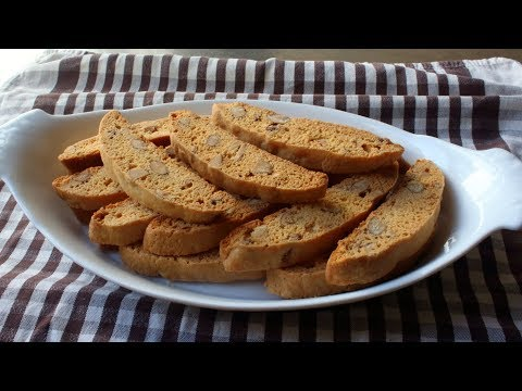 Almond Biscotti – How to Make Biscotti – Crunchy Italian Dipping Cookies