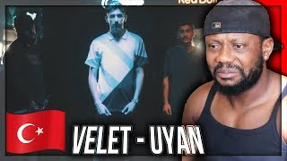 Velet   Uyan Feat. Canbay & Wolker (Official Video)   TURKISH RAP MUSIC REACTION!!!