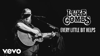 Luke Combs   Every Little Bit Helps (Audio)