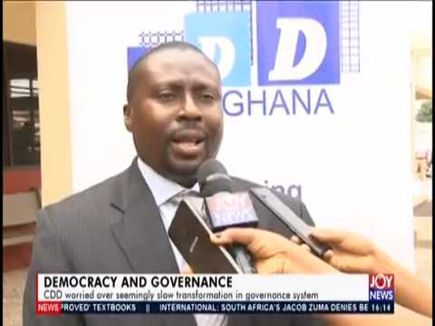 Democracy and Governance - The Pulse on JoyNews (15-7-19)