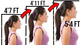 5 Simple Yoga to increase height in 30 days (Just 4 MINUTES) Increase Height | how to grow taller