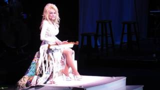 "Dolly Parton - ""Tennessee Mountain Home"" Live at Verizon Arena 2016"