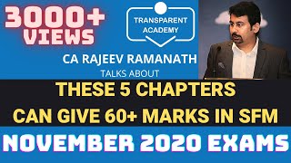 CA FINAL SFM - 5 CHAPTERS Will Give you 60+ Marks!