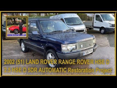 LAND ROVER RANGE ROVER HSE D 2.5 HSE D 5DR AUTOMATIC