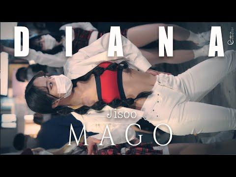 201114 댄스팀 다이아나 DIANA 지수 'MAGO' @홍대버스킹 4K 60P 직캠