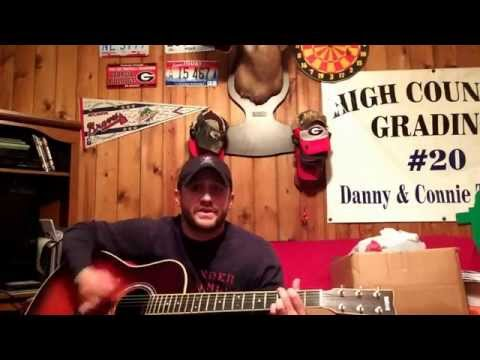 "Chase Thomas covering Craig Morgan's ""Almost Home"""