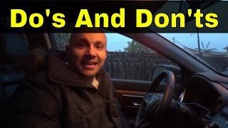 Do's And Don'ts Of Turning The Steering Wheel