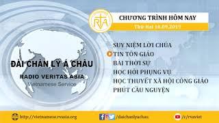 CHƯƠNG TRÌNH PHÁT THANH, THỨ HAI 16092019
