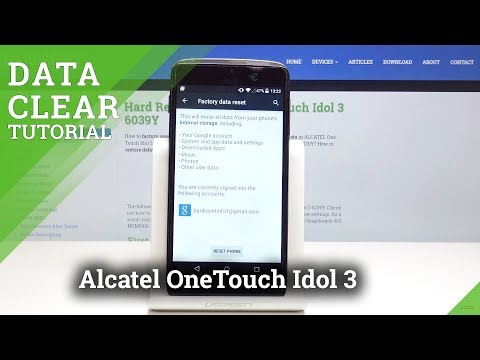 Download Hard Reset Alcatel Onetouch Idol 3 Video 3GP Mp4 FLV HD Mp3