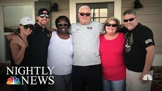 Hospice Nurse And Patient's Son Cross Paths Again | NBC Nightly News