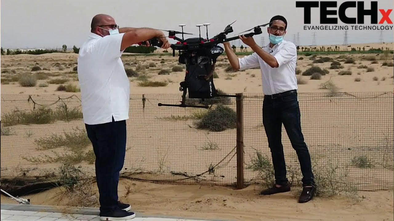 CAFU's Drone Technology With Planting Mechanism