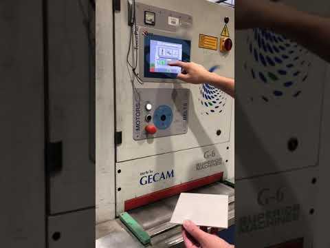 Síkköszörű GECAM G6 2RT 2012