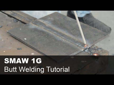 Welder Qualification Tutorial – SMAW 1G Butt Welding Training with 6013 Electrode [Stick Welding]
