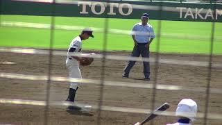 2017秋高校野球福岡大会折尾愛真小野投手