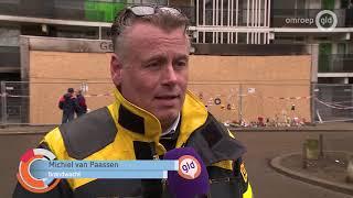 Noodlift bij Arnhems flat in gebruik, woningstichting zet ook brandwacht in