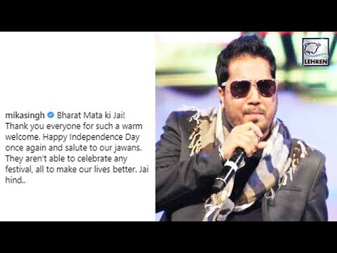 Mika Singh's Patriotic Avatar After Facing BAN Fro