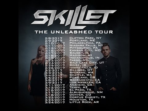 Skillet Announce 2017 Tour With Sick Puppies Amp Devour The