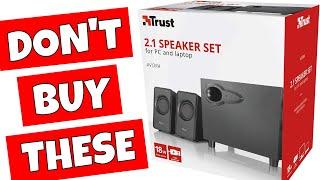 Trust Avora 2.1 Budget USB PC Speaker Set I Was Not Impressed!