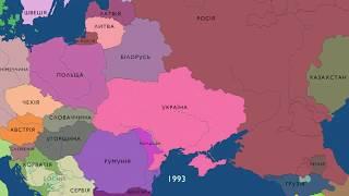 Карты Украины за 1000 лет_Классная песня!