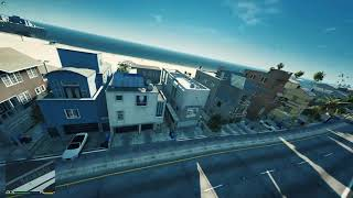 Grand Theft Auto Natural Vision Evolved FPV Drone Footage