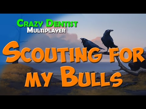 Scouting for my Bulls | Raven clan in 3v3 | Northgard