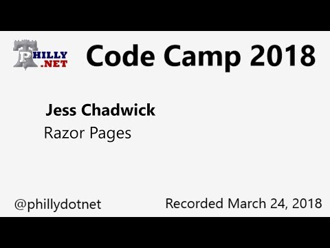 Code Camp 2018 – Introduction to Razor Pages