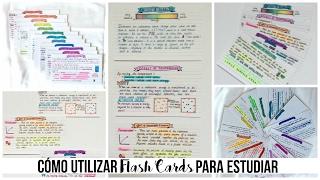 COMO ESTUDIAR Con Flash Cards   Beatriz Lavega