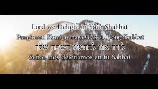 We Delight in Your Shabbat