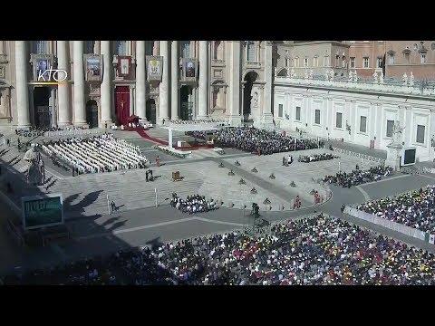 Canonisations à Rome