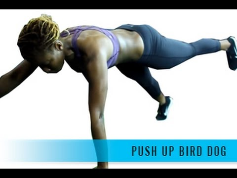 Push Up Bird Dog
