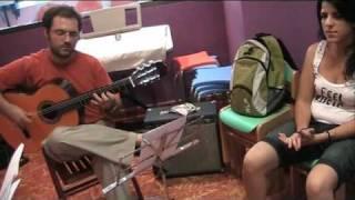 Ensayo del Combo de Juventudes Musicales