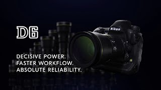 YouTube Video 2oxOPtkPMyQ for Product Nikon D6 Full-Frame DSLR Camera by Company Nikon in Industry Cameras