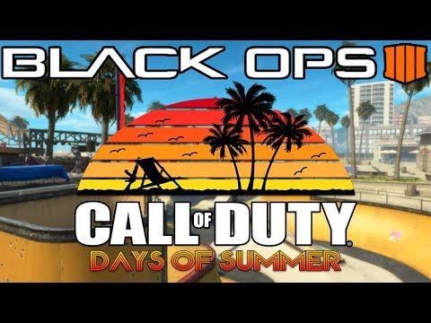 Black Ops 4: Everything In The Days Of Summer Update (Grind Map Remake)