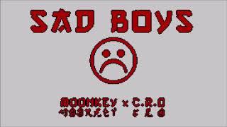 [Bass Boosted] MOONKEY X C.R.O   SADBOYS