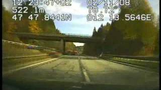 preview picture of video 'Drive in Austria  with GPS Video Speedometer Display'