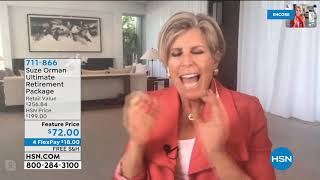 HSN | Suze Orman Financial Solutions for You Anniversary 04.11.2020 - 04 AM