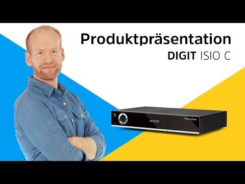 DIGIT ISIO C | Full HD Kabelreceiver mit Internetfunktion | TechniSat