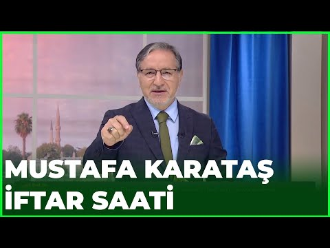 Prof. Dr. Mustafa Karataş ile İftar Saati - 9 Mayıs 2020