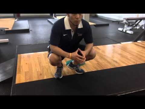 【動きの安定性UP!】中殿筋をしっかりと使えるようにするトレーニング【フットロッキング】