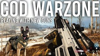 Call of Duty Warzone new guns tryouts!